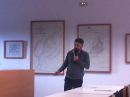 Presentación del Vicepresidente del ICA de iniciativas y oportunidades derivadas de la metodología BIM